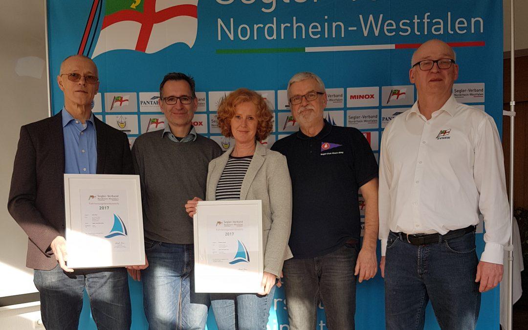 SCRS-Fahrtensegler vom SV NRW geehrt
